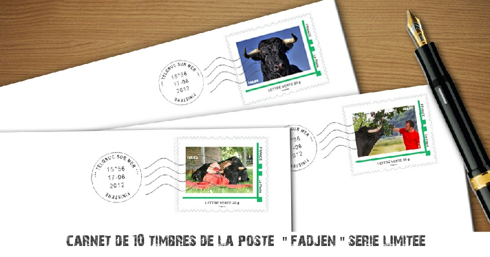 Timbre collection La Poste - Association Fadjen - Philatelie
